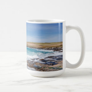 Boobys Bay Beach |England Basic White Mug