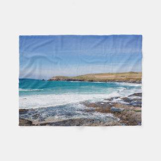 Boobys Bay Beach |England Fleece Blanket