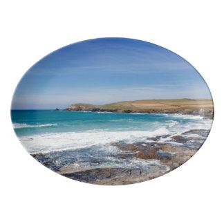 Boobys Bay Beach |England Porcelain Serving Platter
