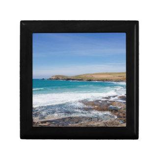 Boobys Bay Beach |England Small Square Gift Box