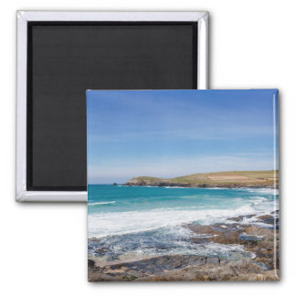 Boobys Bay Beach  England Square Magnet