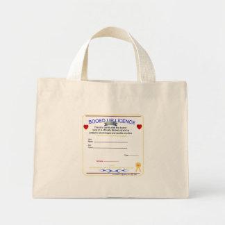 booed up licence mini tote bag
