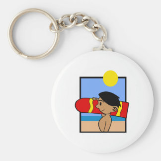 Boogie Board Basic Round Button Key Ring