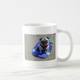 Boogie Board Puggy Basic White Mug