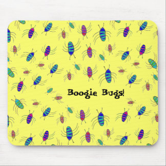 Boogie Bugs! Mouse Pad