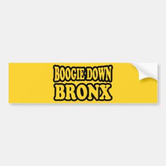 Boogie Down Bronx, NYC Bumper Sticker
