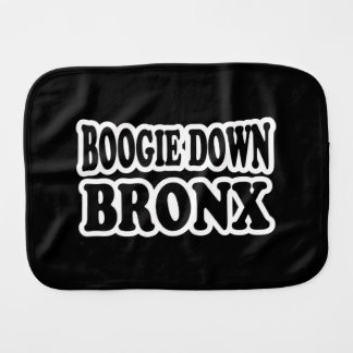 Boogie Down Bronx, NYC Burp Cloth