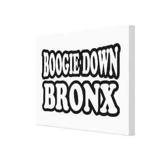 Boogie Down Bronx, NYC Canvas Print