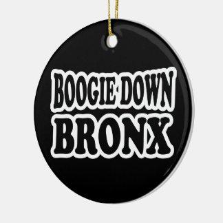 Boogie Down Bronx, NYC Christmas Ornament