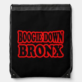 Boogie Down Bronx, NYC Drawstring Backpacks