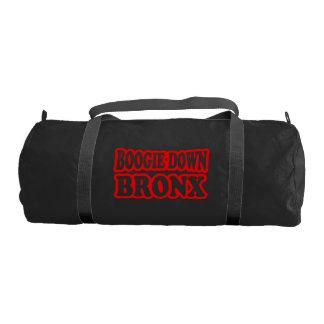 Boogie Down Bronx, NYC Gym Duffel Bag
