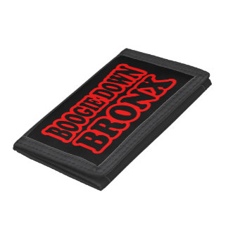 Boogie Down Bronx, NYC Trifold Wallet
