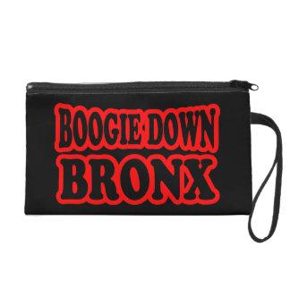 Boogie Down Bronx, NYC Wristlet Clutches