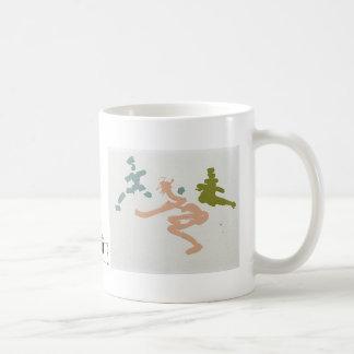boogie girls basic white mug