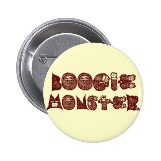Boogie Monster Pinback Buttons