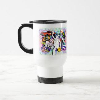 Boogie Stainless Steel Travel Mug