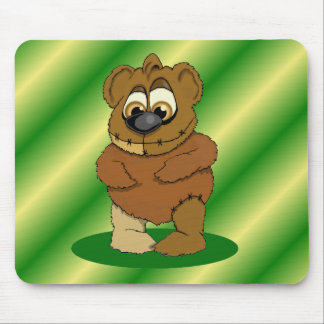 Boogie Woogie Bear Mouse Pad