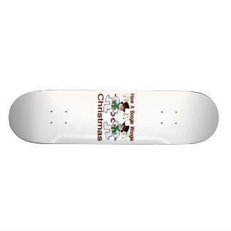 Boogie Woogie Christmas Snowmen Skate Board