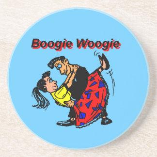 Boogie Woogie Beverage Coasters