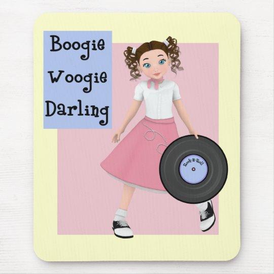 Boogie Woogie Darling Mousepad