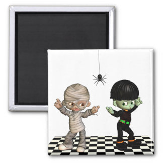 Boogie-Woogie Halloween  Magnet