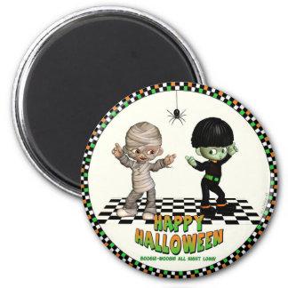 Boogie Woogie Halloween Magnet