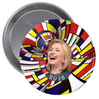 Boogie Woogie Hillary 10 Cm Round Badge