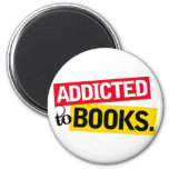 Book Addict Funny Reading Gift Magnets