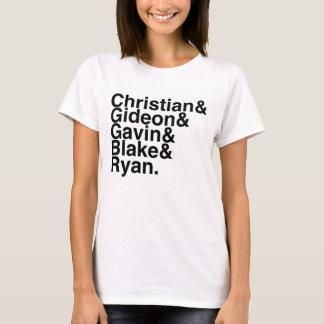 Book Boyfriend- Christian, Gideon, Gavin, Blake... T-Shirt