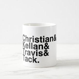 Book Boyfriend- Christian, Kellan, Travis, Tack Basic White Mug