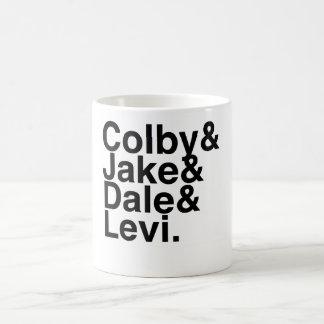 Book Boyfriend- Colby, Jake, Dale, Levi Basic White Mug