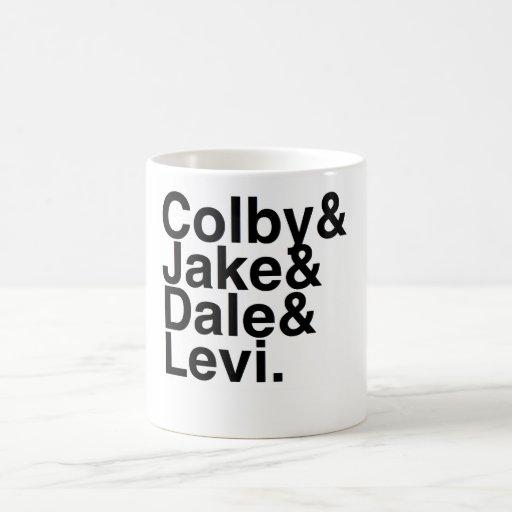 Book Boyfriend- Colby, Jake, Dale, Levi Coffee Mugs