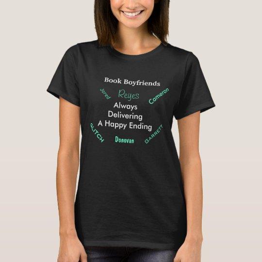 Book Boyfriend Darynda Jones T-shirt