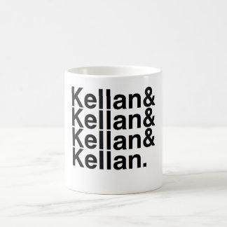 Book Boyfriend- Kellan, Kellan, Kellan, Kellan Basic White Mug