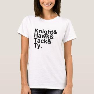 Book Boyfriend- Knight, Hawk, Tack, Ty T-Shirt