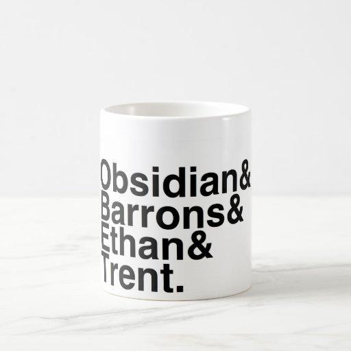 Book Boyfriend- Obsidian, Barrons, Ethan, Trent Coffee Mug
