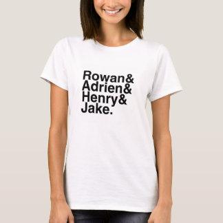 Book Boyfriend — Rowan, Adrien, Henry, Jake T-Shirt