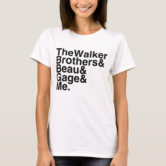 Book Boyfriend- The Walker Brothers, Beau, T-Shirt
