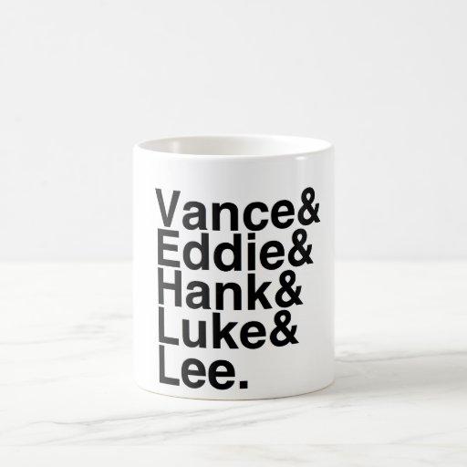 Book Boyfriends — Vance Eddie Hank Luke Lee Coffee Mug