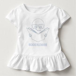 Book Buddies Custom Ruffled Tee - Toddler