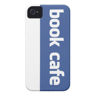 book cafe iPhone 4 case