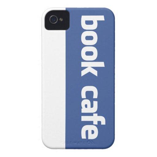 book cafe iPhone 4 case