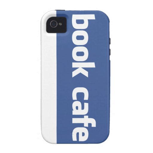 book cafe vibe iPhone 4 cases