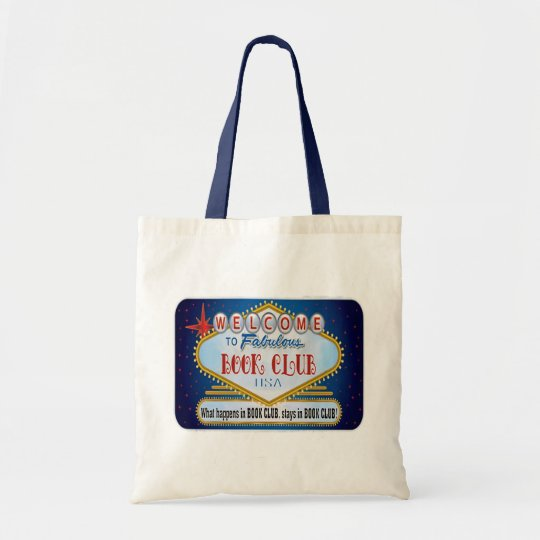 Book Club canvas tote bag