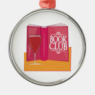 Book Club Christmas Ornament