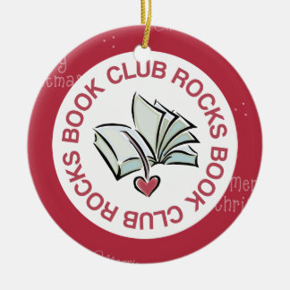 Book Club Christmas Ornament Keepsake Gift