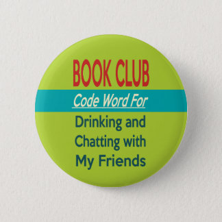 Book Club - Code Word 6 Cm Round Badge