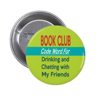 Book Club - Code Word 6 Cm Round Badge