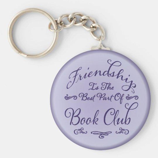 Book Club Friendship Key Holder Key Ring