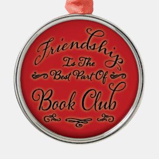Book Club Friendship Ornament